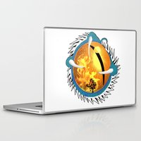 skyfall Laptop & iPad Skins featuring Skyfall Dragon's Eye by Pr0l0gue