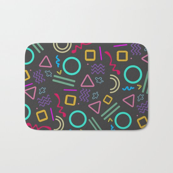 Back to the 80's Bath Mat