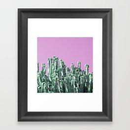 cactus123 Framed Art Print