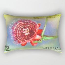 Passiflora Quadrangularis Rectangular Pillow