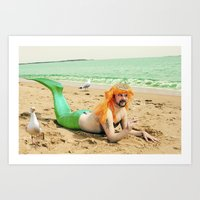 sassy Art Prints featuring Sassy by Jessica Beebe - Photography