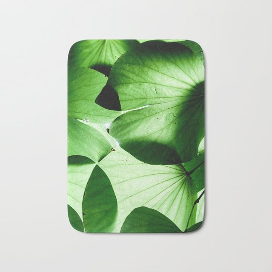 Shades of Green Bath Mat