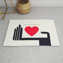 Love One Another Rug