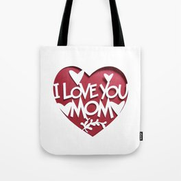 Mother's Day T-Shirt Tote Bag