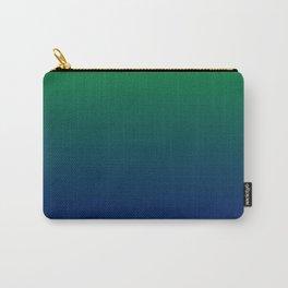 Green to Blue Gradient Tasche