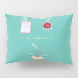 Hungry Pillow Sham