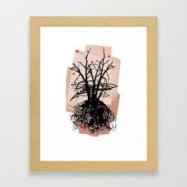 Birds and the Sky Framed Art Print