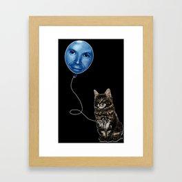 Kaufman Cat Framed Art Print