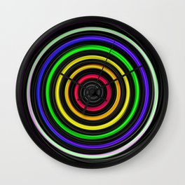 Sacred-Symmetry: Tunnel Of Love  Wall Clock