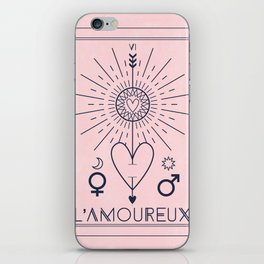 L'Amoureux or The Lover Tarot iPhone Skin