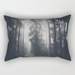 Dark paths Rectangular Pillow