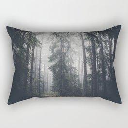Dark paths Rectangular Pillow