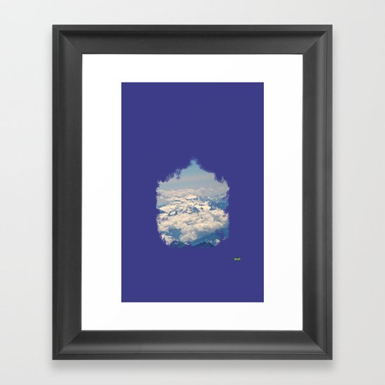 zirve Framed Art Print