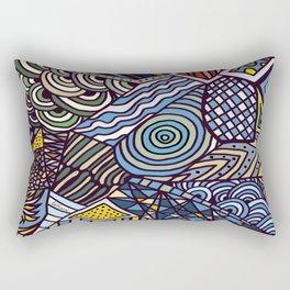 Midnight Wanderlust Zoom 1 Rectangular Pillow