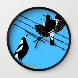 Magpies: learn to fly Wall Clock