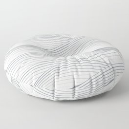 Smooth Japanese Wave Floor Pillow