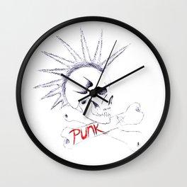 LIBERTY SPIKES Wall Clock