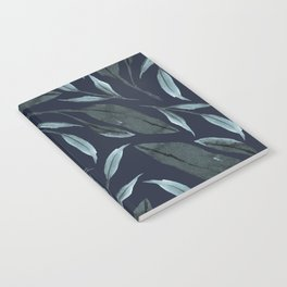 Leafy Vibes (Navy) Notebook