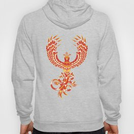 Mythical Phoenix Bird Hoody
