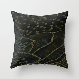 starlings (cropped) Throw Pillow