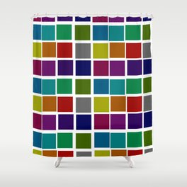 Troll Colors Shower Curtain
