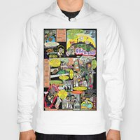canada Hoodies featuring Vivita Spa KOMIX #1 by Tex Watt