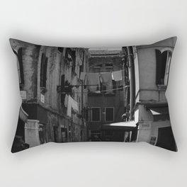 Calle Marcello b&w Rectangular Pillow