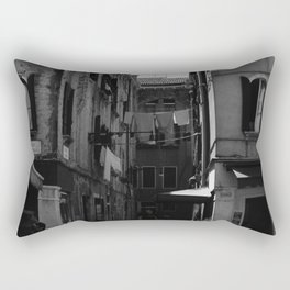 Calle Marcello b&w Rectangular Pillow
