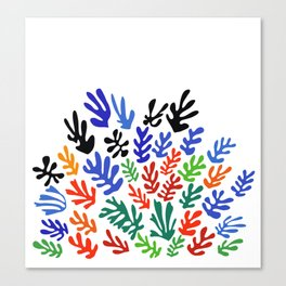Matisse Floral Pattern #1 Canvas Print