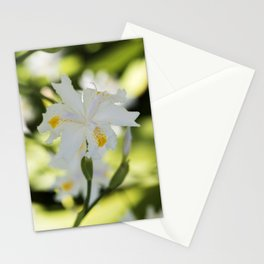 Japanese Roof Iris Blooms Stationery Cards