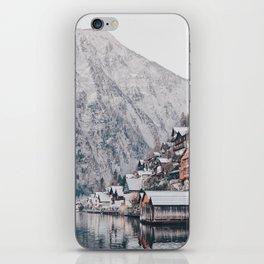 VILLAGE - COAST - MOUNTAINS - SNOW - PHOTOGRAPHY iPhone Skin