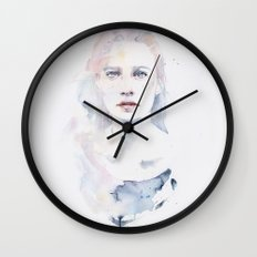 pale color Wall Clock