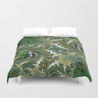 fractal Duvet Covers featuring Fractal by nicky2342