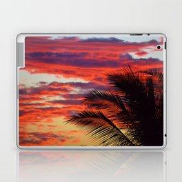 pomegranate sunset Laptop & iPad Skin