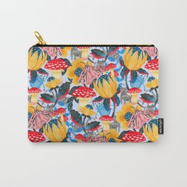 Moth in You - blue Carry-All Pouch
