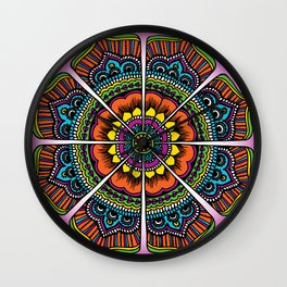 Bollypop Bubblegum Wall Clock