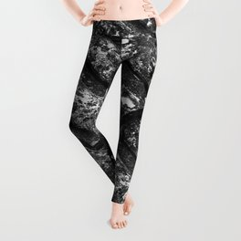Abstract roof tiles patterns Leggings