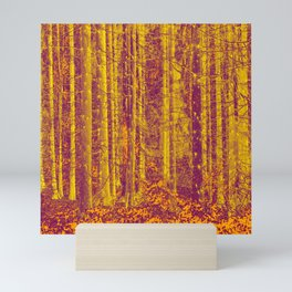 In the middle of the forest #decor #society6 Mini Art Print