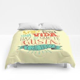 Sólo tienes una vida... Comforters