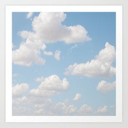 Daydream Clouds Art Print
