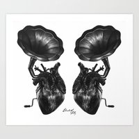 Duet - Listen To Your Heart Art Print