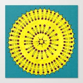 Vesicle Mandala 03 Canvas Print