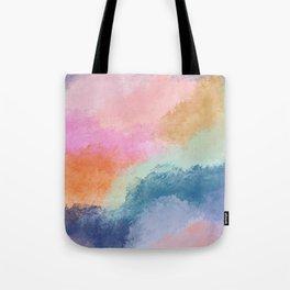 Colorful Fresco Tote Bag