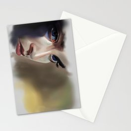 Woman's Eyes Stationery Cards