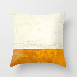 Goldness Throw Pillow