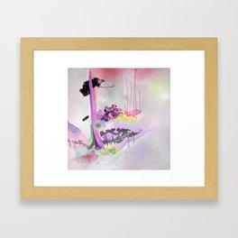 Bubble High Framed Art Print