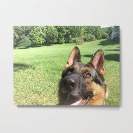 Happy Dog! Metal Print