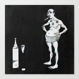 Addiction Canvas Print