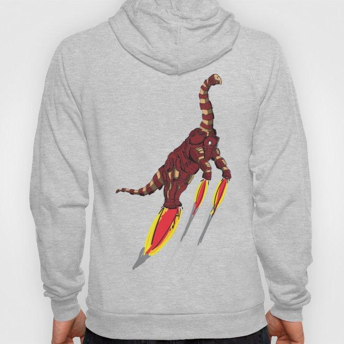 Iron Brontosaurus - Superhero Dinosaurs Series Hoody