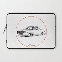 Crazy Car Art 0212 Laptop Sleeve